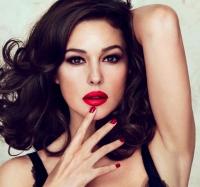 макияж,новый год,моника белуччи,джессика альба,Анджелина Джоли,миранда керр,меган фокс,видео,уроки,мастер-класс