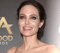 Анджелина Джоли,постарела,морщины,синяки под глазами,лицо,крупным планом,фото,2014,новости,Hollywood Film Awards 2014