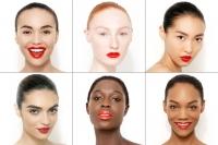тени,красная помада,яркая помада,губная помада,идеальный макияж,любой тип кожи,красота,макияж