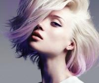 радужное окрашивание,цвет волос,розовый,фиолетовый,голубой