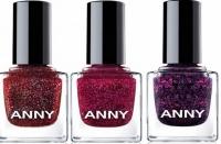 ANNY,рождественская коллекция,лаки для ногтей,глиттер,новый год,2015,фото