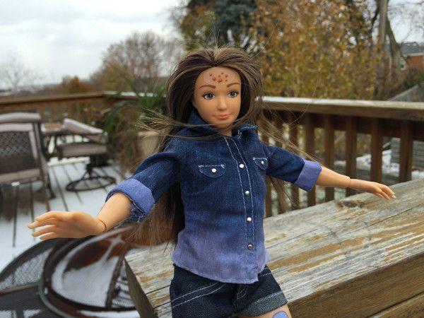 кукла,барби,новая,стандарты красоты,фигура,Лэммили,видео,фото