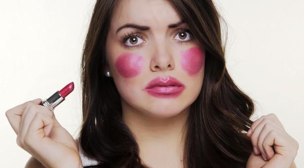 ошибки в макияже,фото,советы,тени для век,синяки под глазами,брови