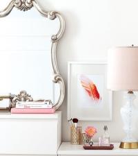 косметика,как хранить,мебель,трюмо,зеркало,фото,идеи,интерьер