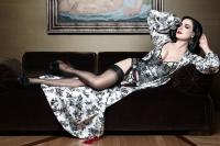 Дита фон Тиз,фото,реклама,фотосессия,нижнее белье,кристиан лубутен,Christian Louboutin