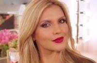 макияж,видео,урок,мастер-класс,блондинка,как сделать,домашних условиях,новый год,вечеринка,фиолетовый