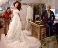 кардашьян,свадьба,свадебное платье,Канье Уэст,амаль аламуддин,скарлетт йоханссон,Анджелина Джоли,фото