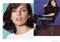 милла йовович,фото,рекламная кампания,лицо бренда,Marella,весна-лето,2015,беременна,второй ребенок,стиль