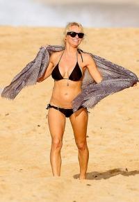 Памела Андерсон,фигура,стройная фигура,идеальная фигура,внешность,Памела,фото,на пляже