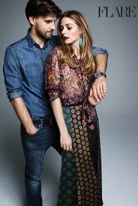 оливия палермо,супруг,мода,фотосессия,новая фотосессия,фото,Оливия,Flare