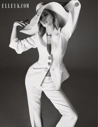 рози хантингтон-уайтли,Рози,фотосессия,новая фотосессия,красота,интервью,elle,Elle UK