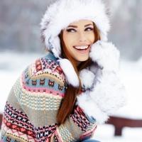 уход за кожей зимой,горнолыжный,солнечный ожог,солнцезащитный крем,горы,мороз,питательный,колд-крем,масло для волос,крем для рук