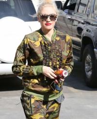 гвен стефани,фото,2015,стиль,уличная мода,street-style,миллитари