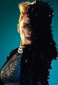 Шэрон Стоун,шэрон стоун,фотосессия,новая фотосессия,красота,новый образ,яркий образ,фото,кожаные платья