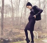 коко роша,роша,фото,социальные сети,беременная,стильная мама,стиль звезд,стиль,беременность