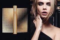 кара делевинь,фото,новинки косметики,лицо бренда,YSL,блеск для губ,тушь для ресниц,консилер,2015