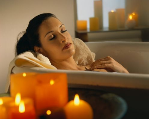 релакс,как снять усталость,увлажнить кожу,молочно-медовая ванна,ванна с медом,ванна с молоком,ванна Клеопатры,мед в косметике,восстановить силы