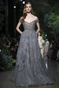 эли сааб,подиум,новая коллекция,фото,вечернее платье,платье,Elie Saab,неделя моды в Париже,весна-лето 2015