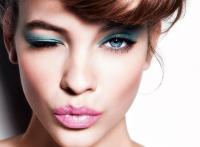 макияж,модный макияж,модный макияж,make up,как сделать макияж глаз,Тренд 2015%3A синие тени в ежедневном макияже