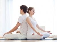 йога,комплекс упражнений,медитация,упражнения для двоих,поза лотос,уроки йоги,йога видео,асана,поза