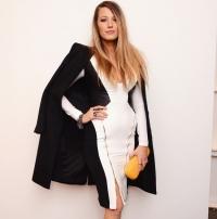 блейк лайвли,фото,образ,после родов,фигура,стиль,неделя моды в Нью-Йорке,осень-зима,2015