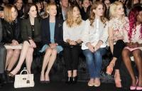 первый ряд,front row,показ,дизайнеры,неделя моды в Нью-Йорке,неделя моды в Лондоне,неделя моды в Париже