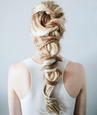 коса,прическа,своими руками,8 марта,мастер-класс,фото