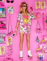 Рози Хантингтон Уайтли,фотосессия,новая фотосессия,кукла,Барби,рози,супермодель,фото,vogue