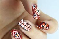 NCLA,наклейки для ногтей,этно мотивы,украинские орнаменты,интересный маникюр,идеи маникюра,маникюр в украинском стиле