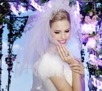 маникюр для невесты,маникюр на свадьбу,новые лаки для ногтей,модные оттенки лаков,лаки  ANNY Just Married,идеи свадебного маникюра