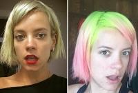 Лили Аллен, Лили Аллен фото, Лили Аллен фото 2015, Лили Аллен волосы, Лили Аллен цвет волос, Лили Аллен сменила имидж