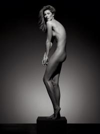 жизель бундхен,новая фотосессия,обнаженные звезды,стройная фигура,Vogue Brazil