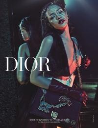 рианна,новая фотосессия,Christian Dior,dior,Secret Garden