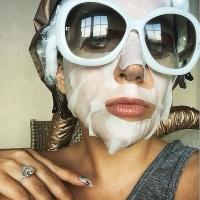леди гага,блондинка,смена имиджа,окрашивание,подготовка к свадьбе