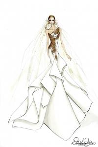 леди гага,свадебное платье,выбор невесты,свадьба,Vera Wang,свадебные платья от кутюр