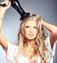 сушка волос, как сушить волосы, сушки волос, сушить волосы феном