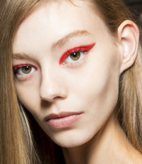 яркий макияж глаз фото, модный макияж глаз фото, макияж глаз тренды 2015, яркие стрелки фото