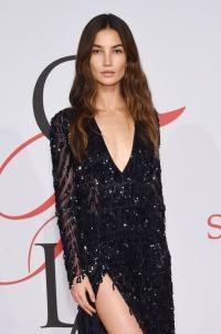 Лили Олдридж,новый образ,наряд,CFDA Fashion Awards