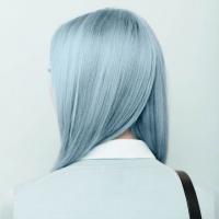 голубые волосы,новый тренд,радужное окрашивание,летний тренд,сменить имидж