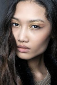 золотой макияж,тренды,beauty-образ,металлик