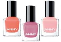 лаки для ногтей ANNY, новая коллекция ANNY, модный маникюр лето 2015