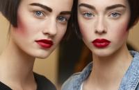 макияж с показа Chanel фото, Chanel Haute Couture осень 2015, Chanel Haute Couture осень 2015 бекстейдж, Chanel Haute Couture осень 2015 фото
