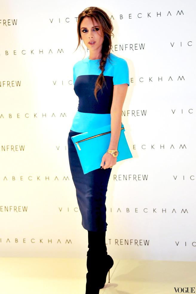 Виктория Бекхэм признана главной иконой стиля Великобритании