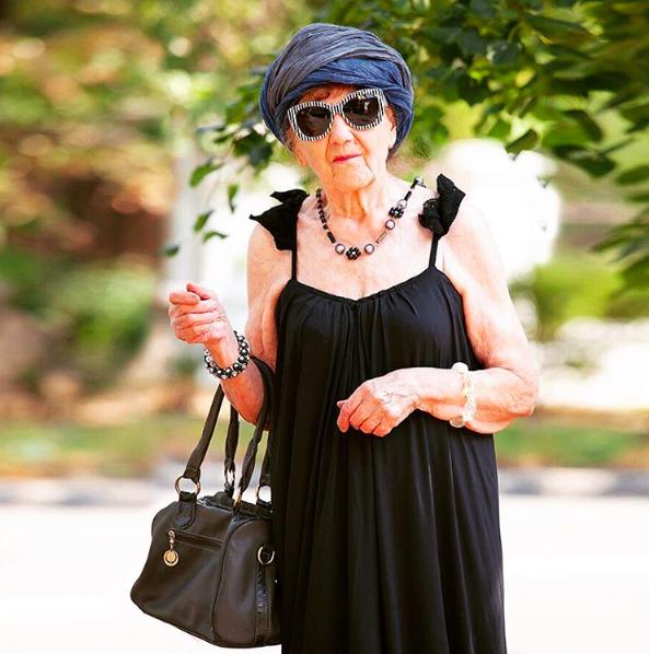 90-летняя пенсионерка с Урала стала модным блогером (ФОТО)