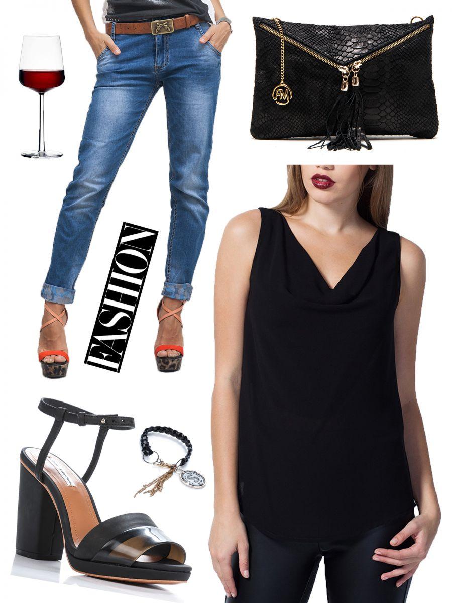 Уроки стиля: 5 образов с трендовыми джинсами-бойфрендами