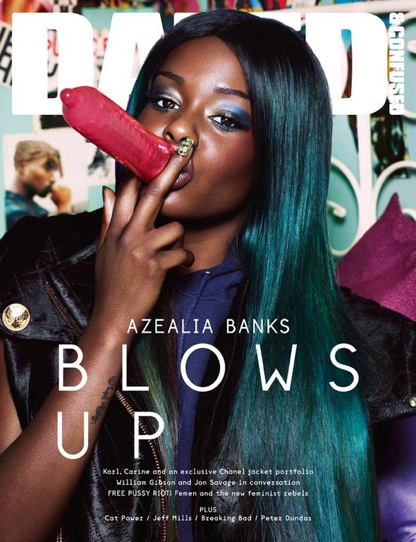 Азалея Бэнкс для Dazed & Confused
