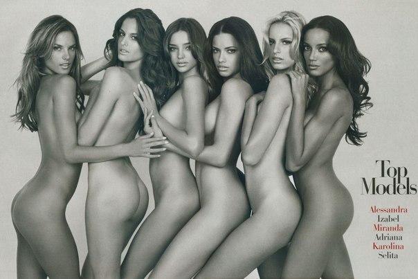 Новые ангелы Victorias Secret показали обнаженные тела