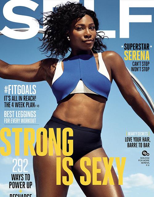 Серена Уильямс снялась для обложки журнала Self и сделала важное заявление (ФОТО)