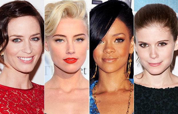 Звездотренд: золотой макияж глаз по-голливудски