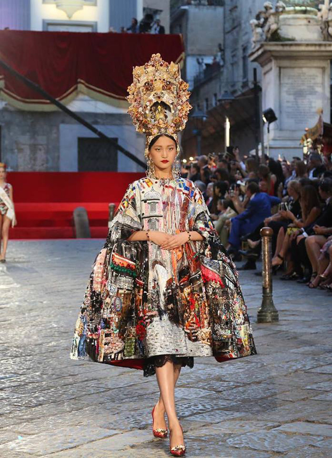 La Mia Sofia: коллекция Dolce and Gabbana Alta Moda, посвященная Софи Лорен и Неаполю